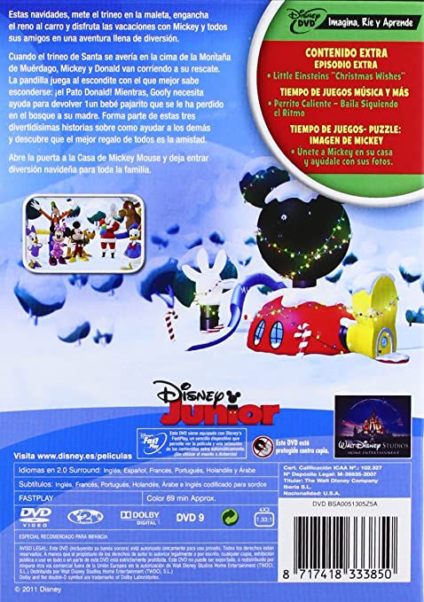 Amazon.com: Pack Disney Junior Navidad (Import Movie) (European Format - Zone 2) (2012) Personajes Animados; Rob Laduca: Movies & TV