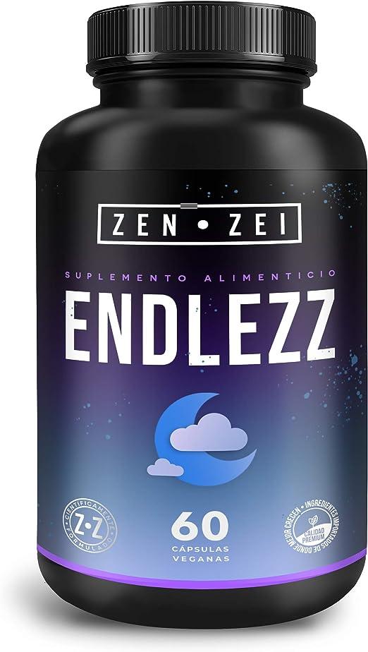 ZEN•ZEI | ENDLEZZ SLEEP - Suplemento para Dormir 100% Natural — Formulado para: Sueño Reparador Tranquilo y Profundo — Con 6 Ingredientes Para Restau