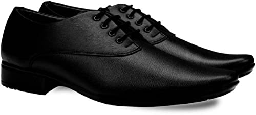 207ed5ce621 DEEKADA Men s Black Synthetic Leather Formal Shoes for Men s + Party Wear Formal  Shoes  Buy Online at Low Prices in India - Amazon.in