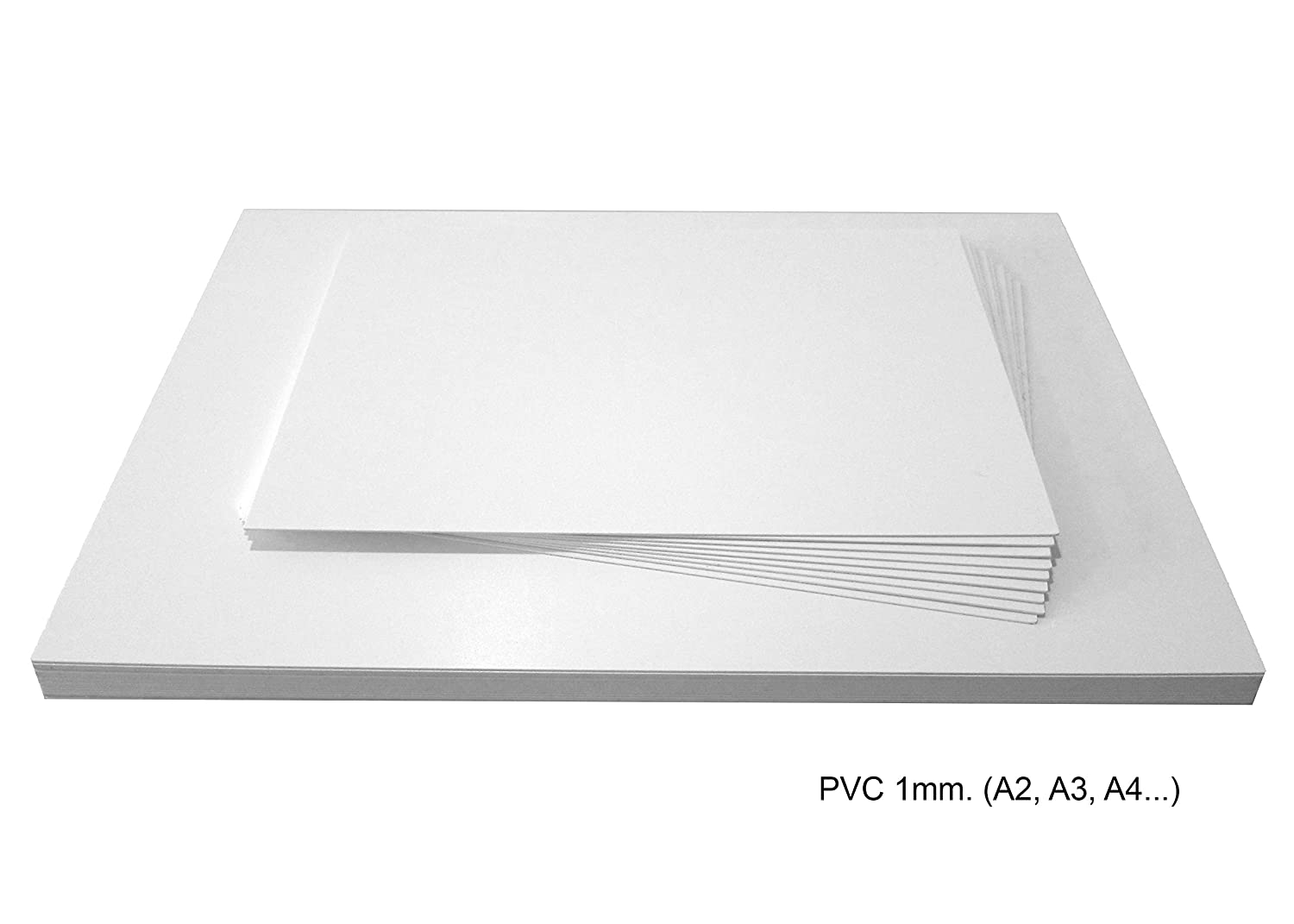 297x420mm FRM Professional Quality. A3 , Matt White, 10 Foam PVC Sheets Ideal for Digital and Screen Printing Plastic Sheets Made in Germany