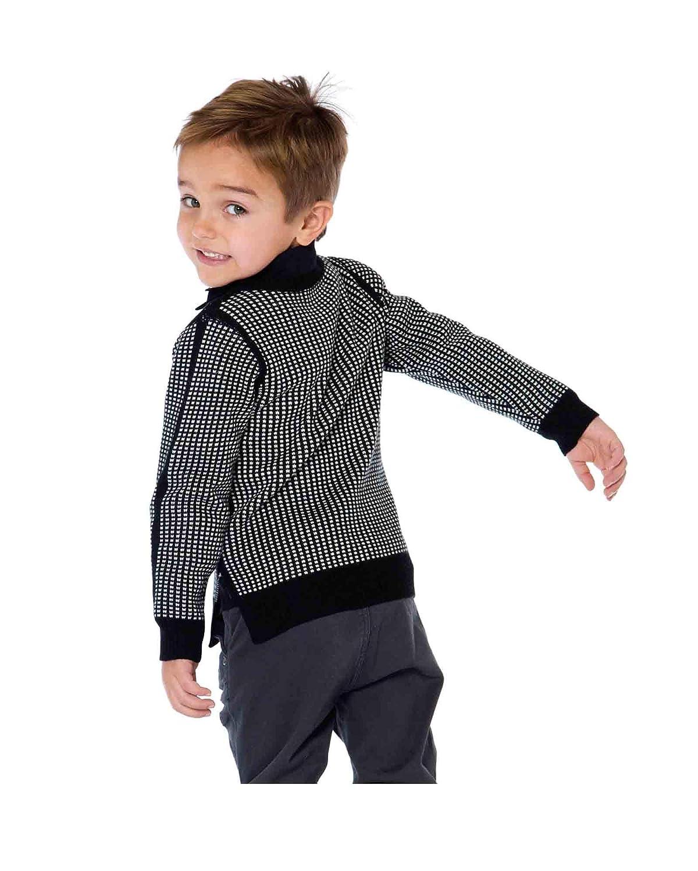 Sizes 3-12 Deux par Deux Boys Knit Pullover Night King