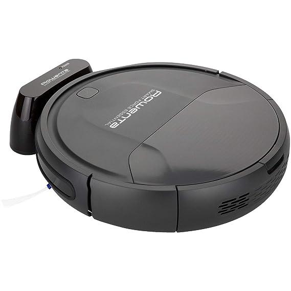 Rowenta RR6925 WH aspiradora robotizada Negro 0,25 L - Aspiradoras robotizadas (Negro, Alrededor, 0,25 L, 65 dB, Edge, Azar, Random room, Suelo duro): ...
