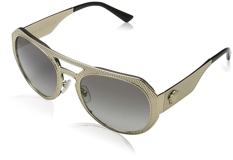 Amazon.com: Versace – Gafas de sol Para Mujer (ve2175) metal ...