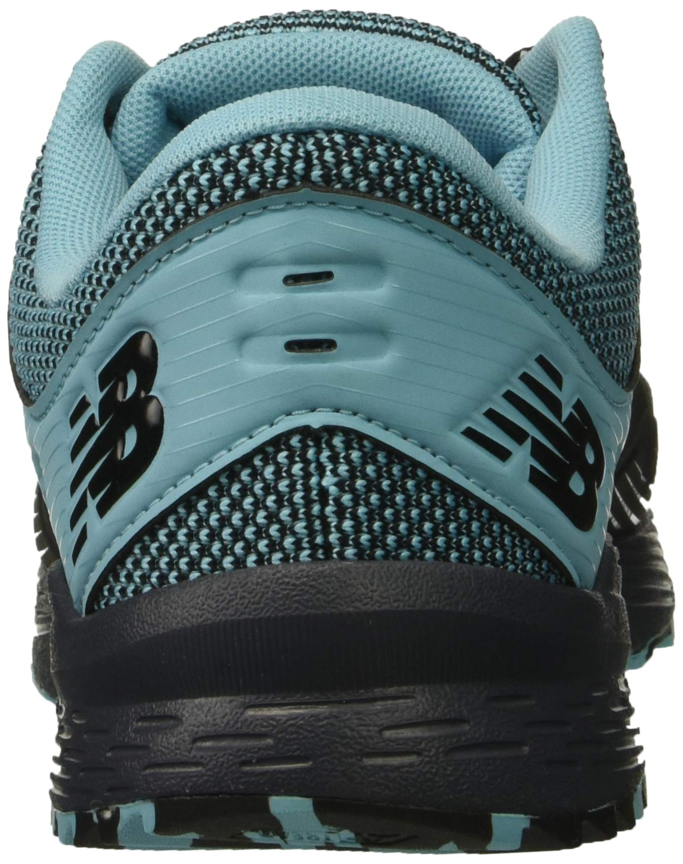 New Balance Women's Nitrel V2 FuelCore Trail Running Shoe, Black/Thunder/Enamel Blue, 6 B US by New Balance (Image #2)