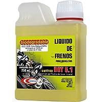 BOMPAR Dot 5.1 Liquido de Frenos, Unisex Adulto, Amarillo, 250 ml
