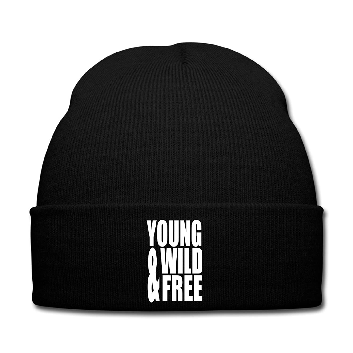 Young Wild and Free Wintermütze von Spreadshirt®
