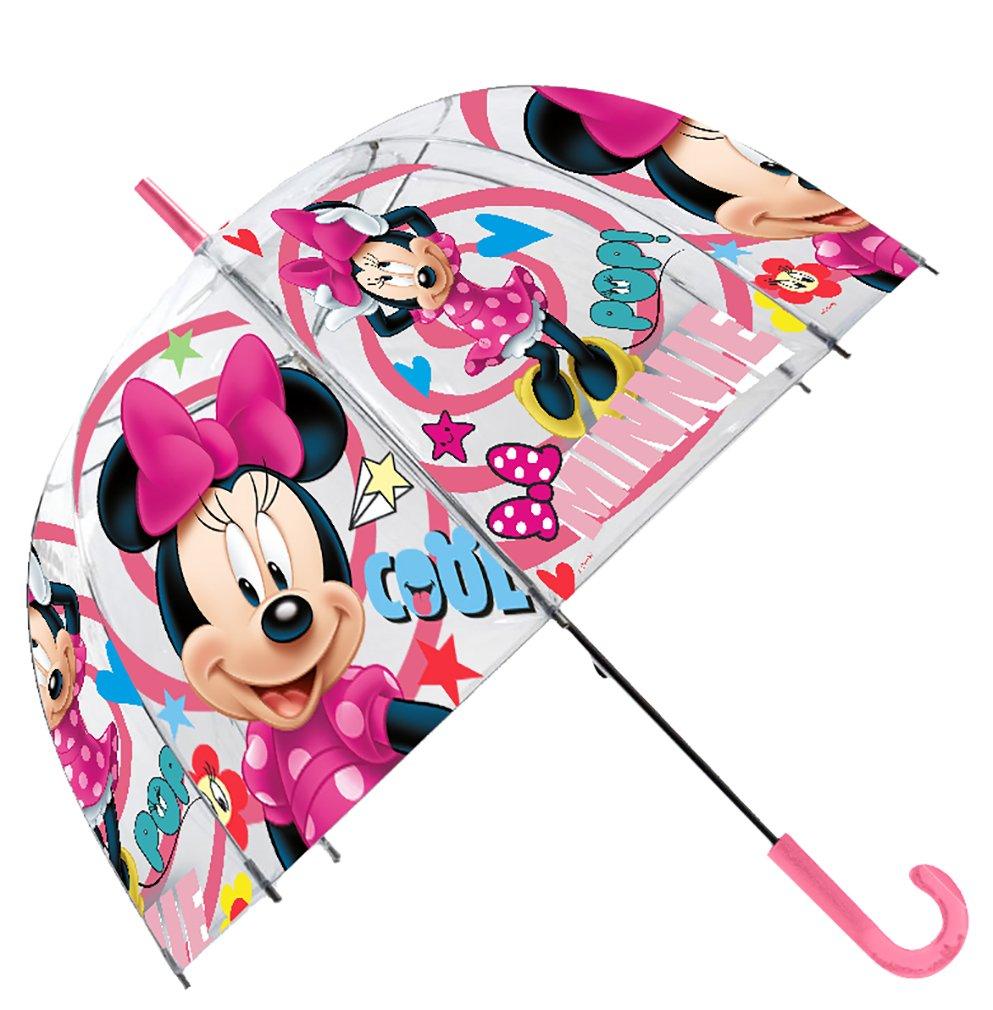 Precioso paraguas de Minnie.