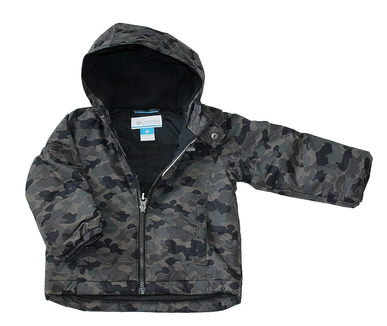 66365eb473c5e Amazon.com: Columbia Exposed Ice Boys Toddler Snow Waterproof Bibs Jacket  Set: Clothing