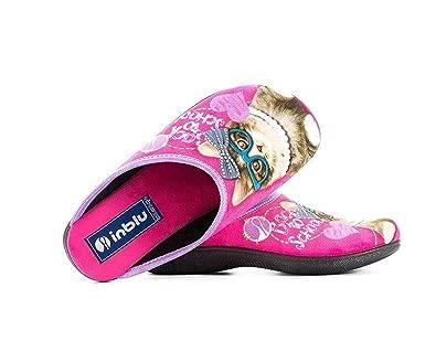Saldi 2019 sconto più basso primo sguardo INBLU Womens Pantofole Pink Size: 37: Amazon.co.uk: Shoes & Bags