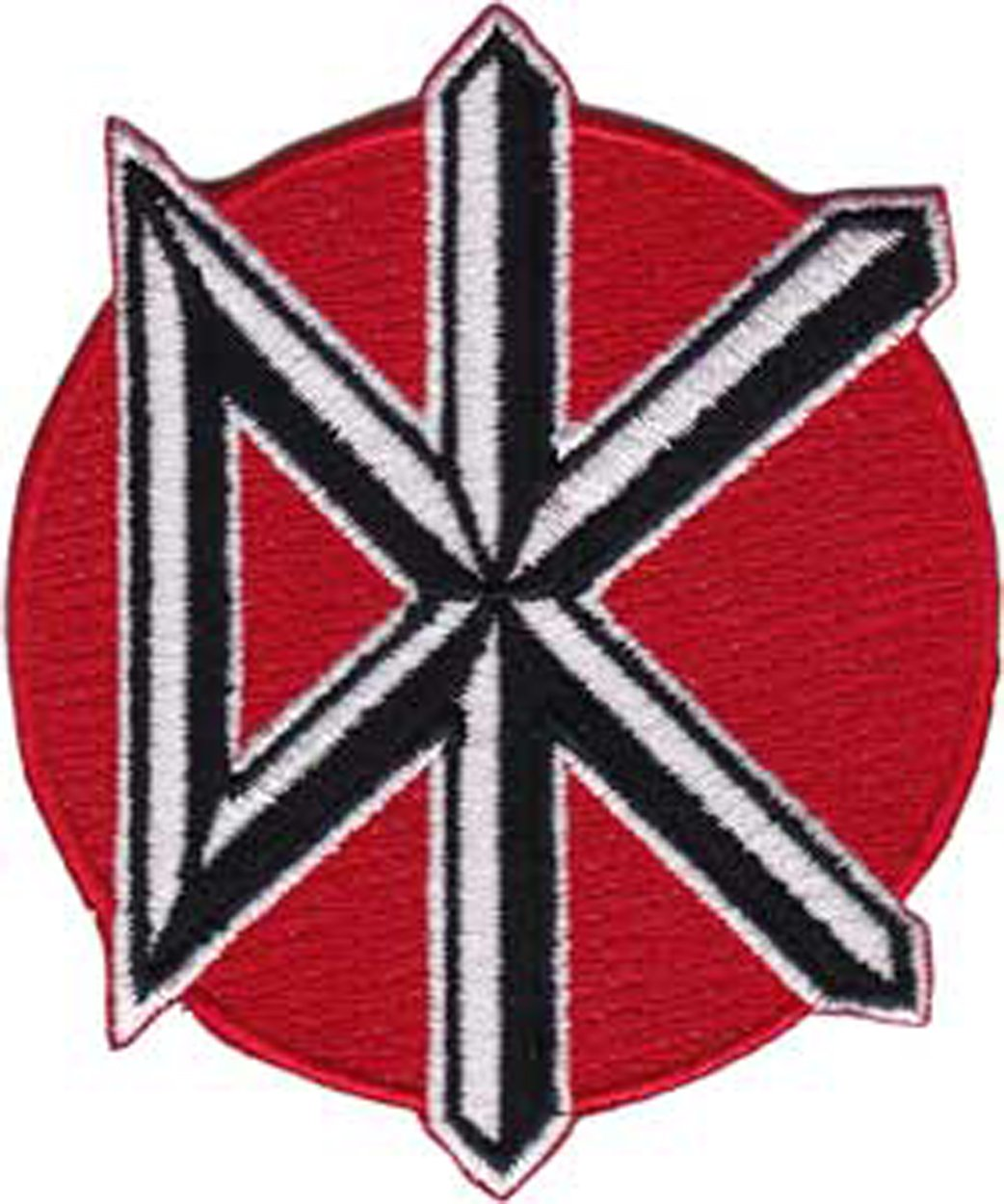DEAD KENNEDYS Icon, Officially Licensed Original Artwork, Premium Quality Iron-On / Sew-On, 2.5 x 3 Embroidered PATCH toppa P-4098