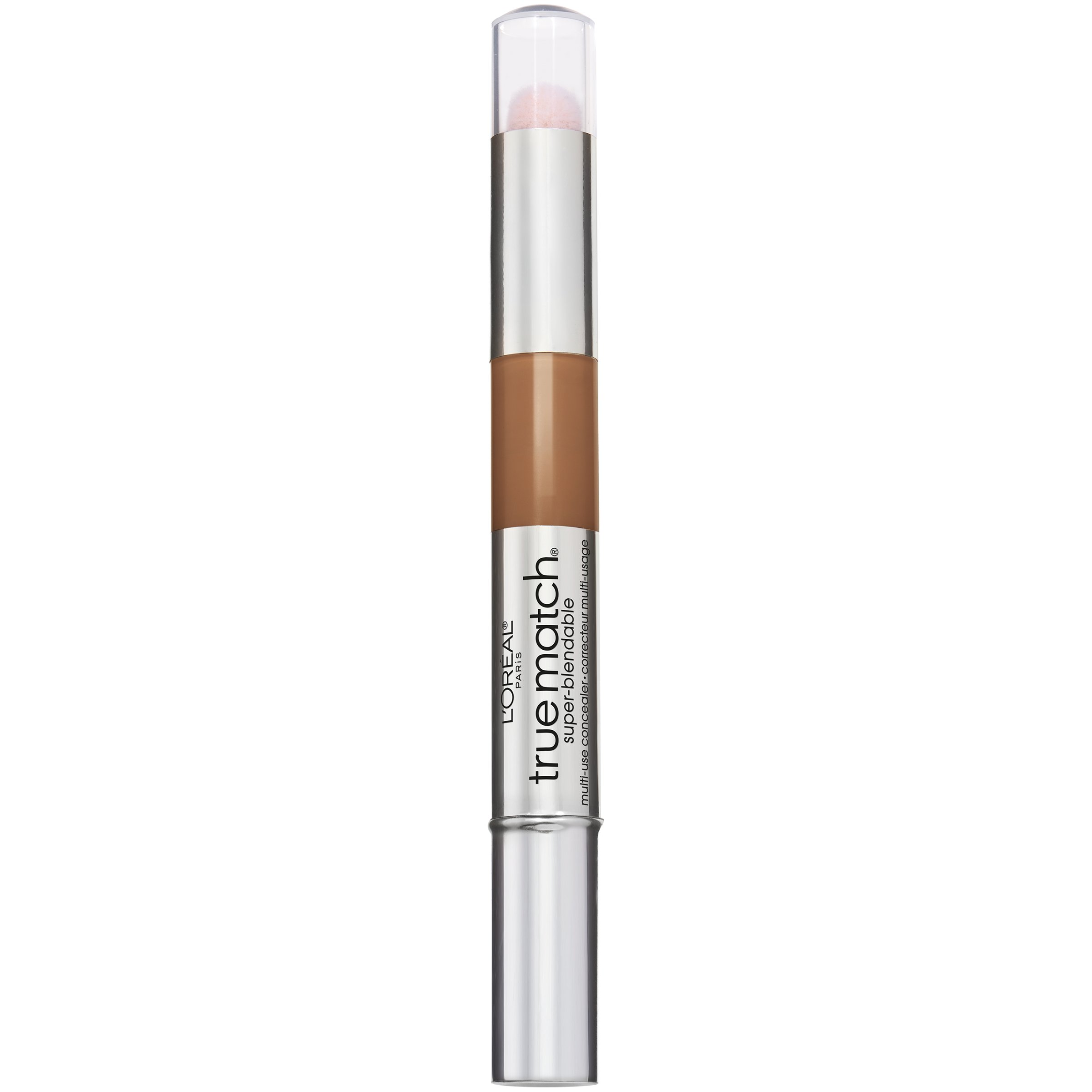 L'Oreal Paris Cosmetics True Match Super-Blendable Multi-Use Concealer Makeup, Dark C7-8, 0.05 Fluid Ounce
