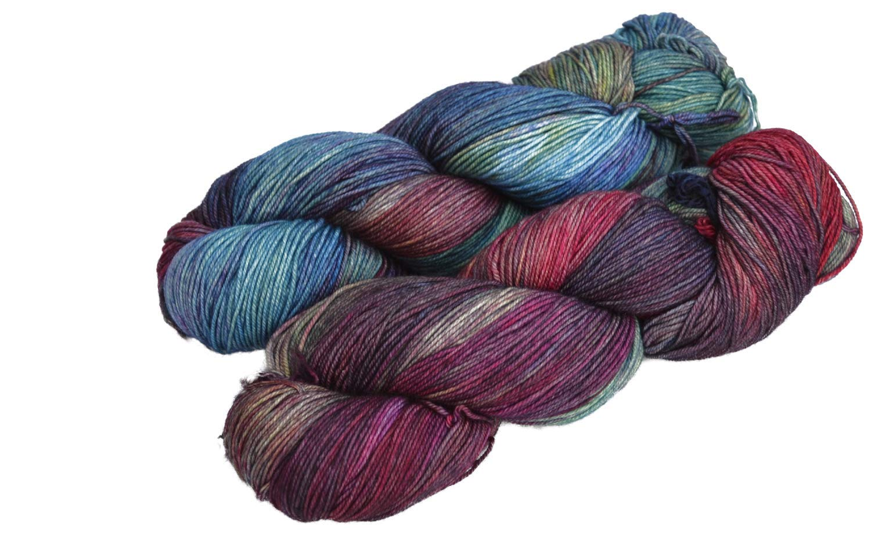 Malabrigo Sock Superwash Merino Knitting Yarn Wool 100g Cote D/'azure 807