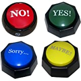 4 Total Buttons! The NO, YES, SORRY and MAYBE Buttons - SIMPLIFY YOUR LIFE WI...