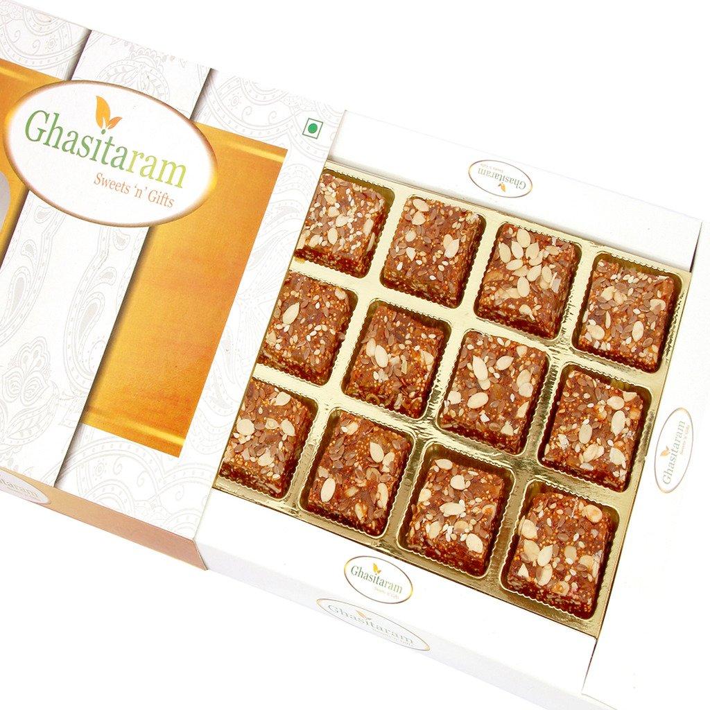 Mothers Day Gifts-Ghasitaram Gifts Sugarfree Healthy Energy Cereal/ Seeds Khajoor Bites