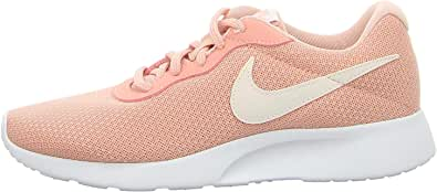 Nike, 11996234031, Womens Tanjun Running Shoes, Black White, 4 UK 37.5 EU,812655