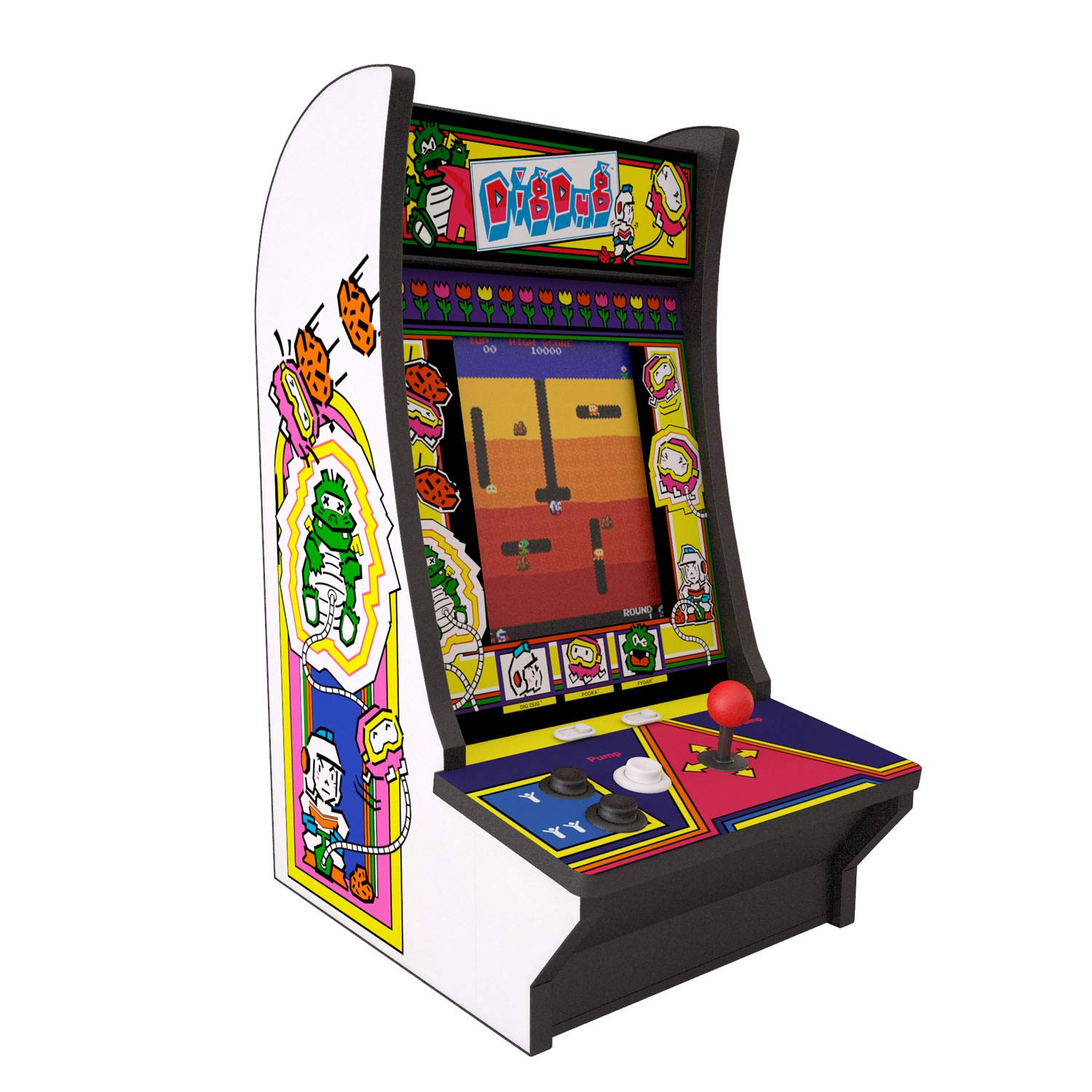 Arcade 1Up Dig Dug Countercade Arcade System