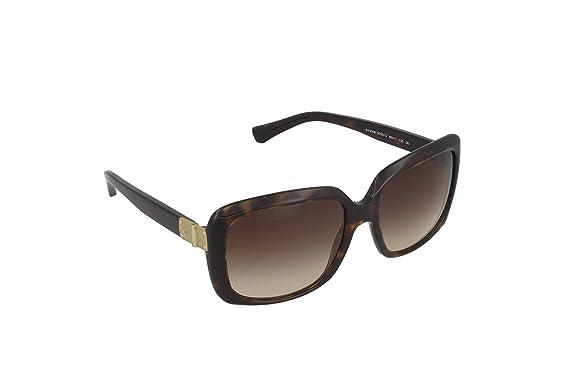Emporio Armani Gafas de sol EA4008 Havana 502613, 56: Amazon ...