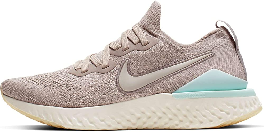 Nike W Epic React Flyknit 2, Chaussures d'Athlétisme Femme