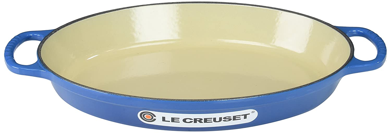 Le Creuset Enamel Cast Iron Signature Oval Baker, 2.25 quart, Marseille
