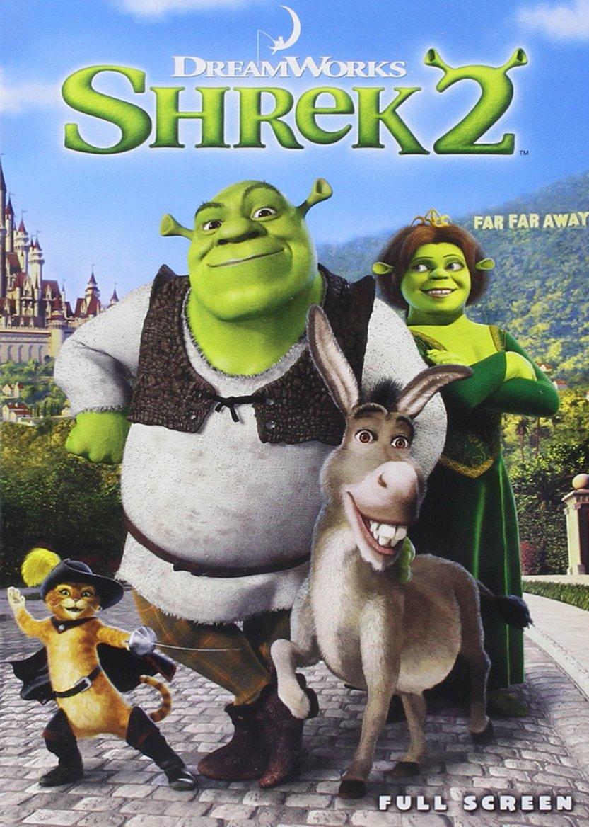 Amazon.com: Shrek 2 (Full Screen Edition): Mike Myers, Eddie Murphy,  Cameron Diaz, Antonio Banderas, Julie Andrews, John Cleese, Rupert Everett,  Jennifer Saunders, Andrew Adamson: Movies & TV