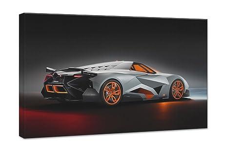 Lamborghini Egoista Concept 2 24X36 Gallery Wrapped 3/4u0026quot; Depth Canvas  Print