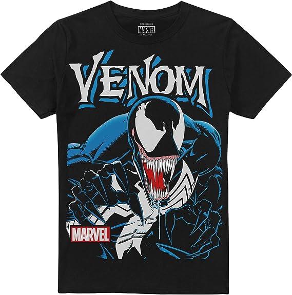 Marvel Venom Anthihero Camiseta para Hombre: Amazon.es: Ropa y accesorios