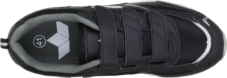Schwarz//Grau Schwarz//Grau 9 Lico Mens Fitness Shoes Black