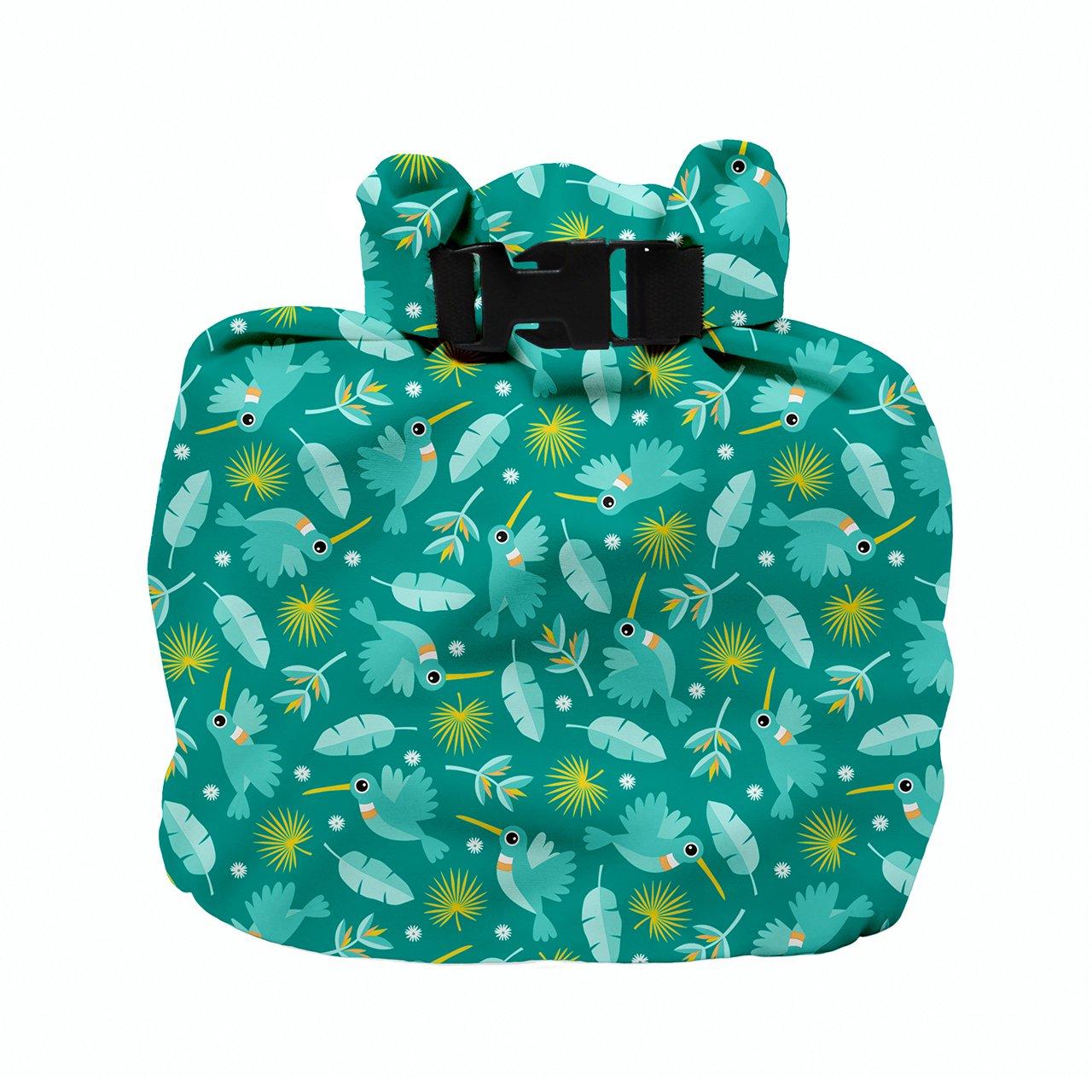 Bambino Mio Wet Diaper Bag, Hummingbird by Bambino Mio