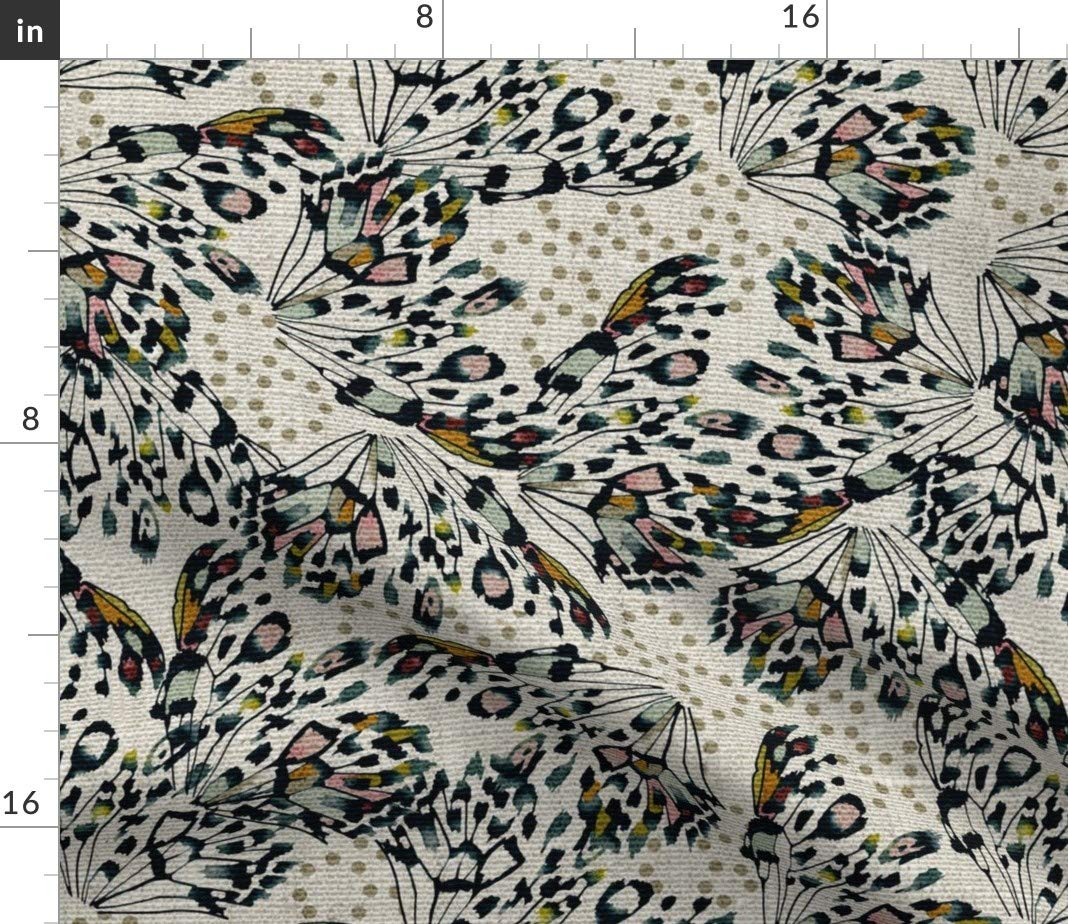 Amazon.com: roostery mariposa alas de las mariposas leopardo ...