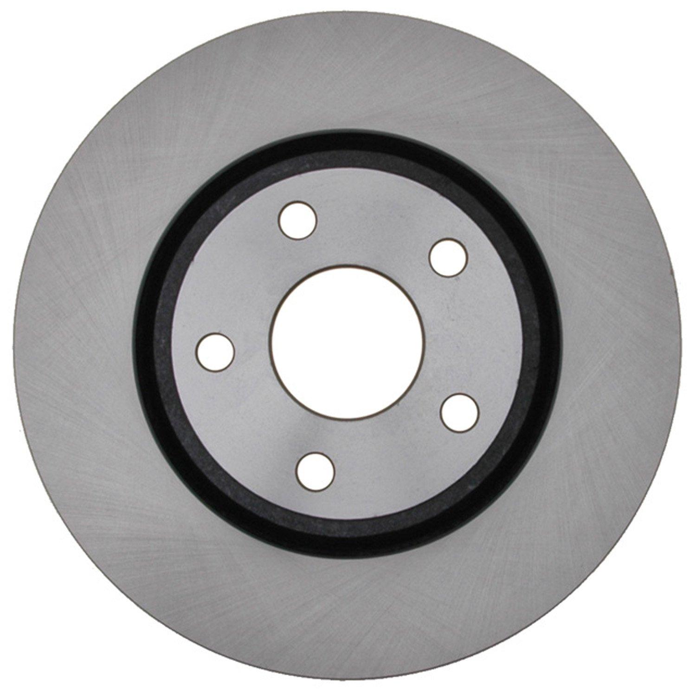 ACDelco 18A2793A Advantage Non-Coated Front Disc Brake Rotor