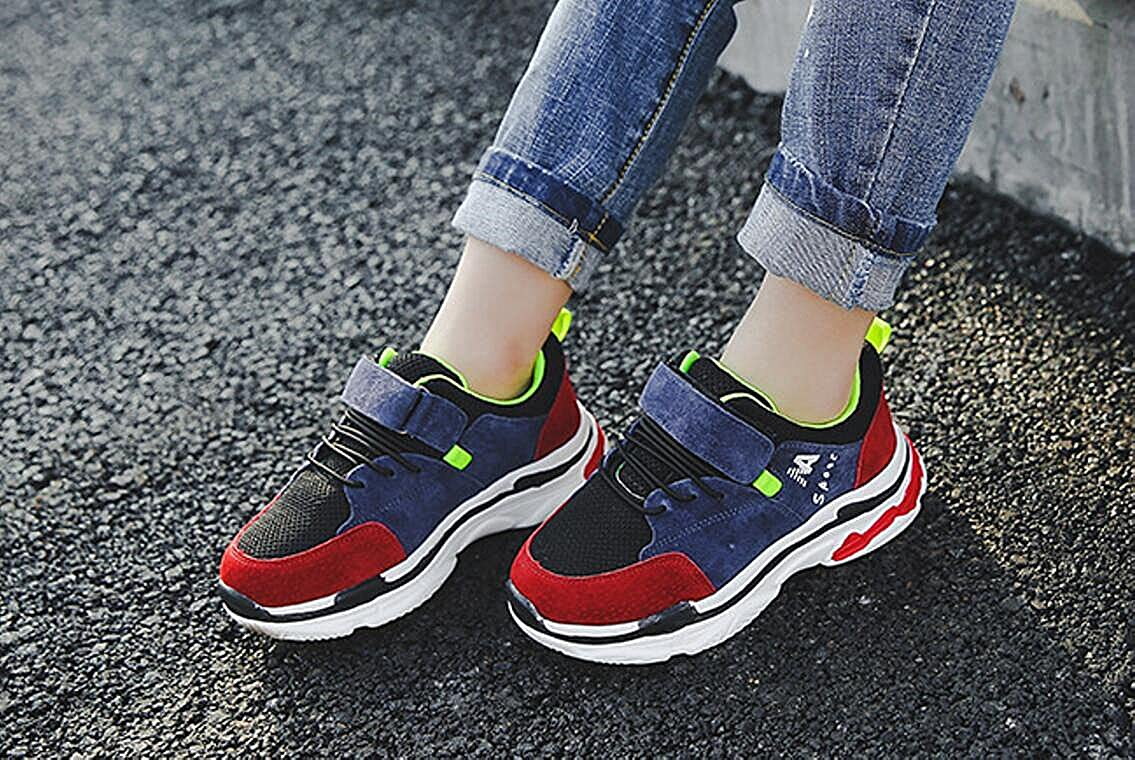 cici shoes Kids Athletic Running Shoes Knit Breathable Lightweight Walking Tennis Sneakers for Boys Girls
