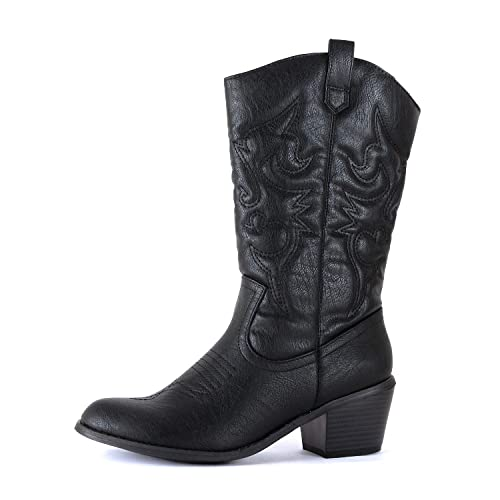 ceff682031b Amazon.com | West Blvd - Womens Miami Cowboy Western Boots | Shoes