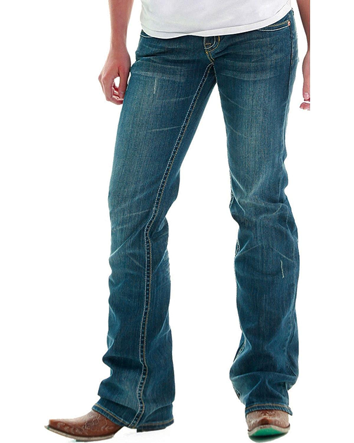 Cowgirl Tuff Womens Dont Fence Me in Jeans