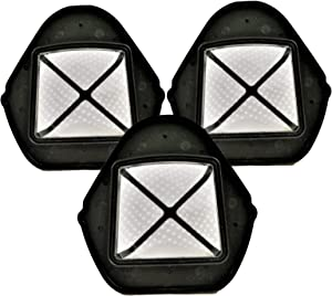 Shark XSB726N Dust Cup Filter for SV75 XF769 (3 Pack in Plain Poly Bag)