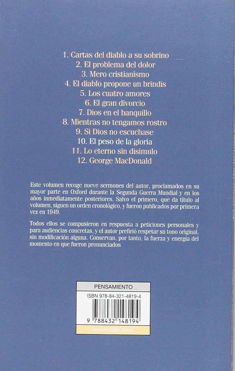 El peso de la gloria (Bibilioteca C. S. Lewis): Amazon.es ...
