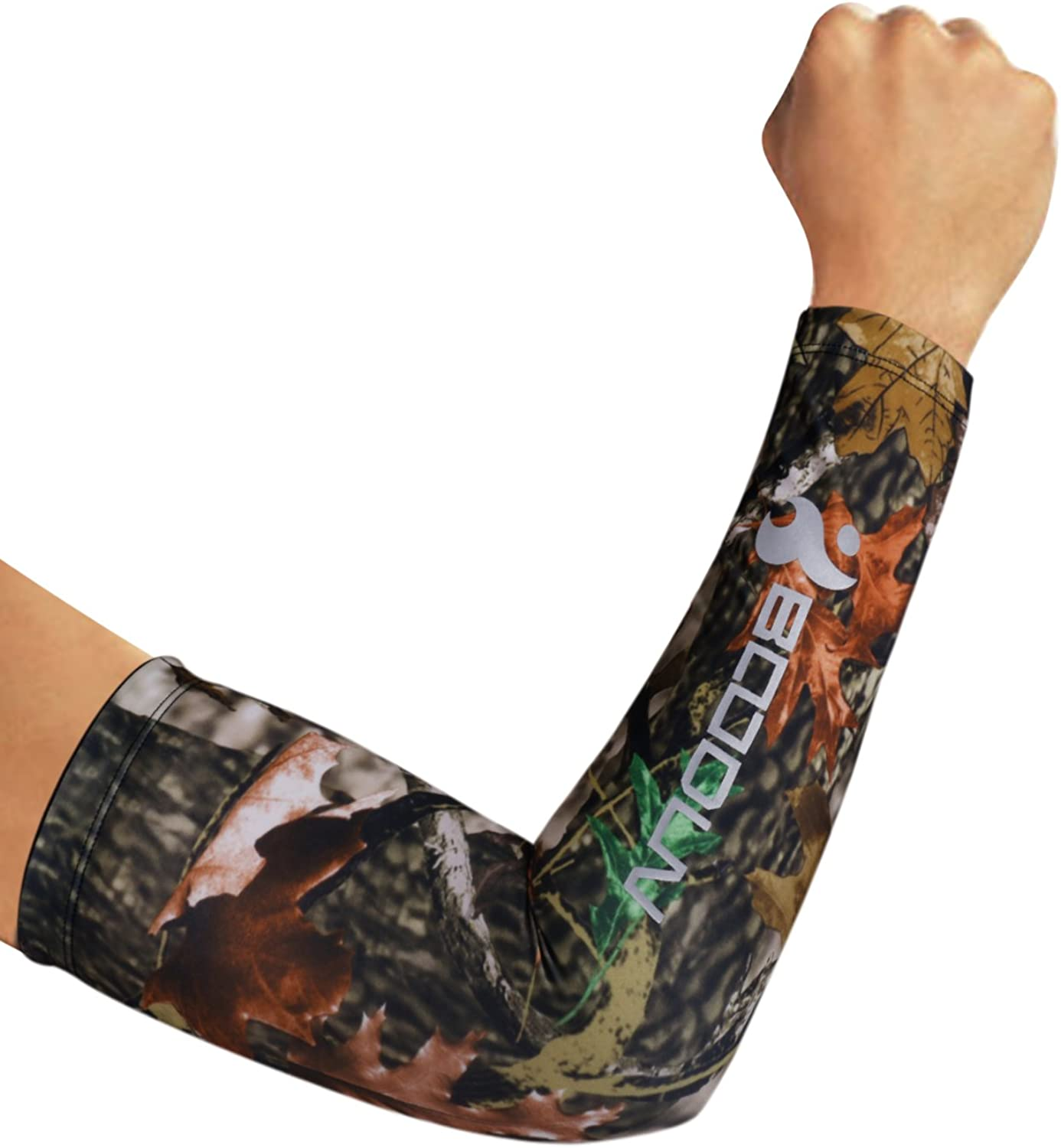 DONWELL Sports Arm Sleeves UV Sun Protection Cooling Arm Sleeve Cover Gloves 1 Pair