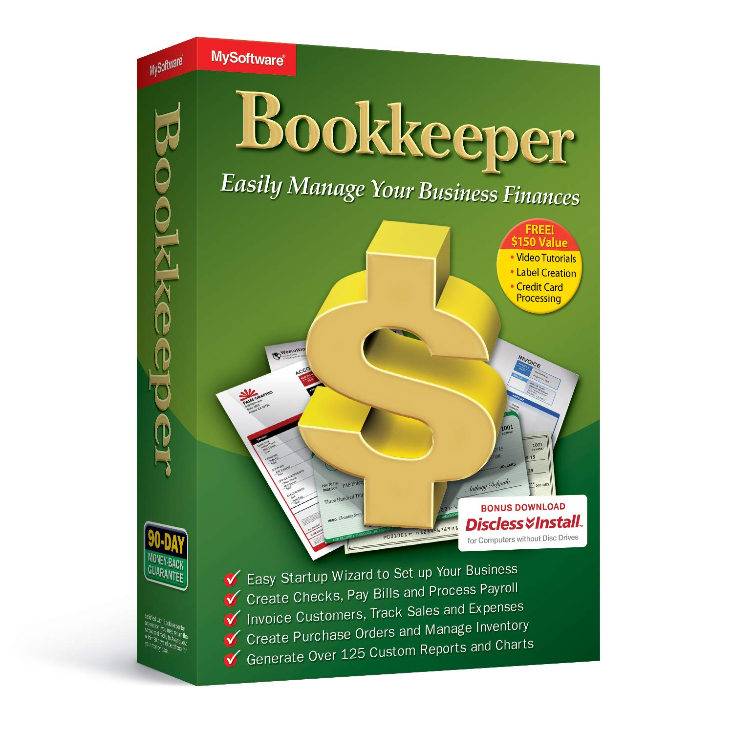 Bookkeeper: Easily Manage Your Business Finances by Avanquest
