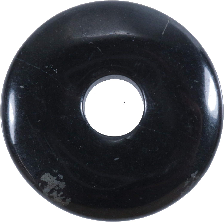 Fuente de Vida Plus Schungit Piedras Preciosas Donut Ø 30 mm Colgante