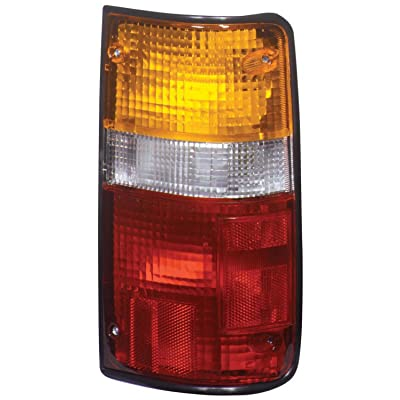 TYC 11-1655-00 Compatible with TOYOTA Pickup Driver Side Replacement Tail Light Assembly: Automotive
