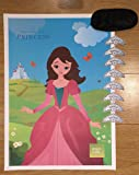 Pin the Tiara on the Princess Party Game