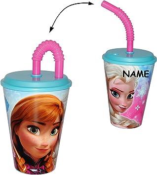 mit Strohhalm /& Deckel Name BPA frei Minions 420 ml inkl Kunststoff Plasti.. ich einfach unverbesserlich alles-meine.de GmbH Trinkbecher // Henkeltasse // Trinkflasche
