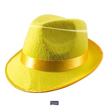 445f540e34 Trilby Hat Neon Yellow