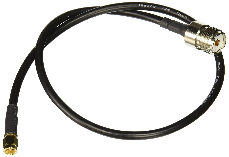 Yaesu Handheld a PL259 Cable SMA macho a UHF hembra Coaxial Jumper - 40 cm coaxial RG58 SO-239 a SMA: Amazon.es: Electrónica