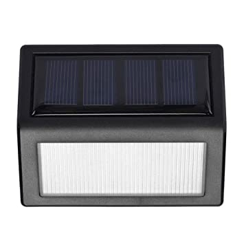 30LEDs Solar Powered Wall Light Infrared /& Light Sensor Wireless Outdoor IP65