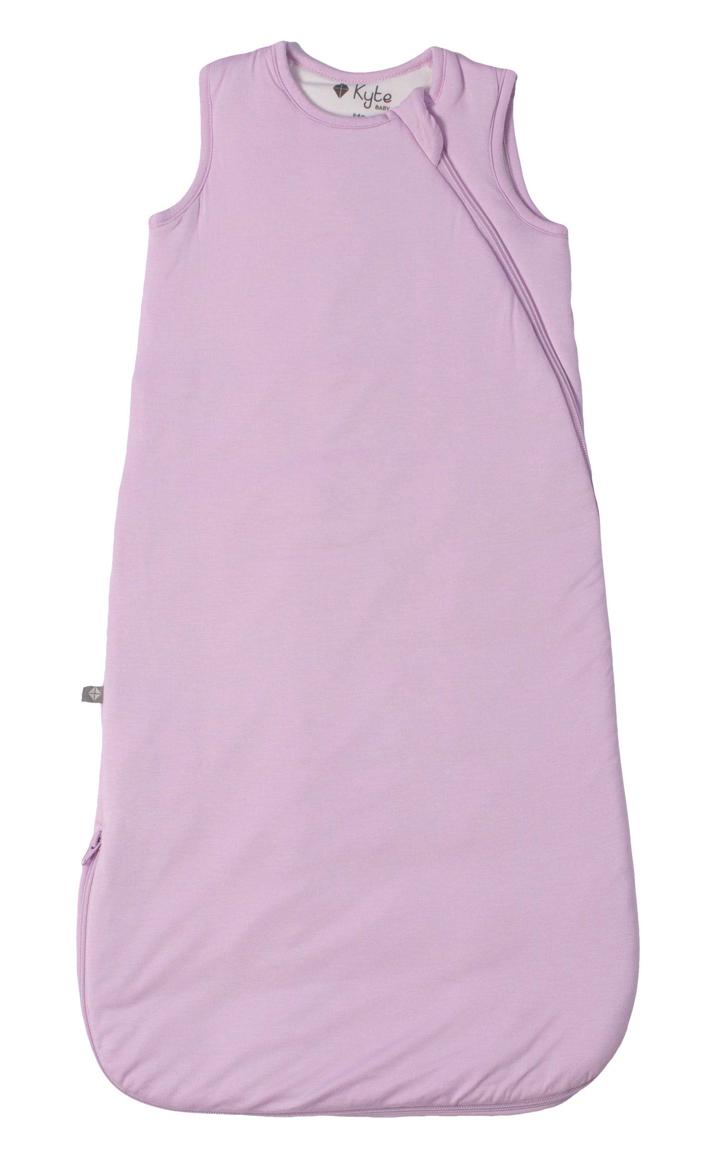 Kyte BABY Sleeping Bag for Toddlers 0 to 36 Months - Made of Soft Organic Bamboo Rayon Material - 1.0 Tog (0-6 Months, Mauve)