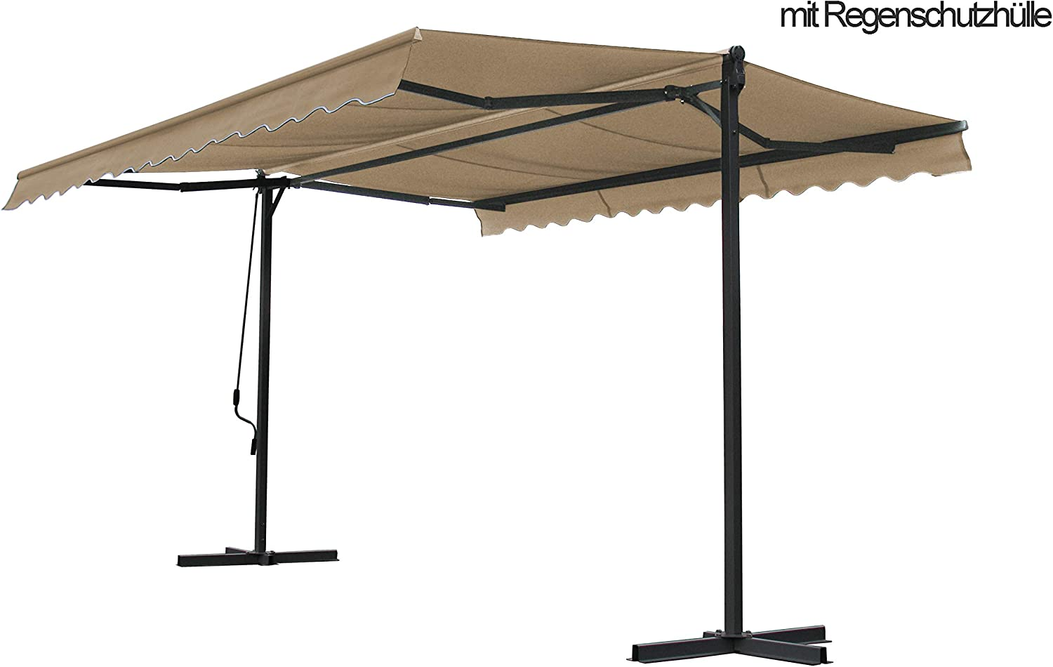 Grasekamp Atril Toldo London 4 x 4 m Arena con Carcasa: Amazon.es ...
