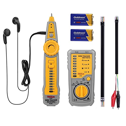 Tone And Probe Kit Cable Tracer Tracker Finder Amazon Co