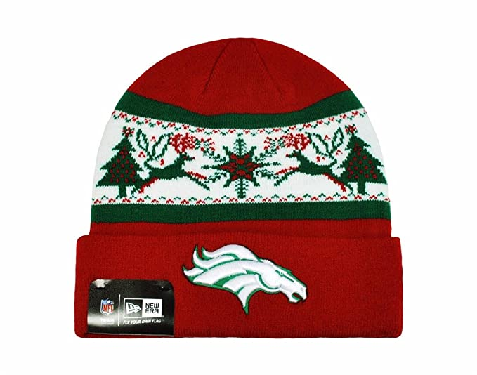 351713a7 Amazon.com: NEW ERA NFL Knit Fillzdenver Denver Broncos Beanie ...