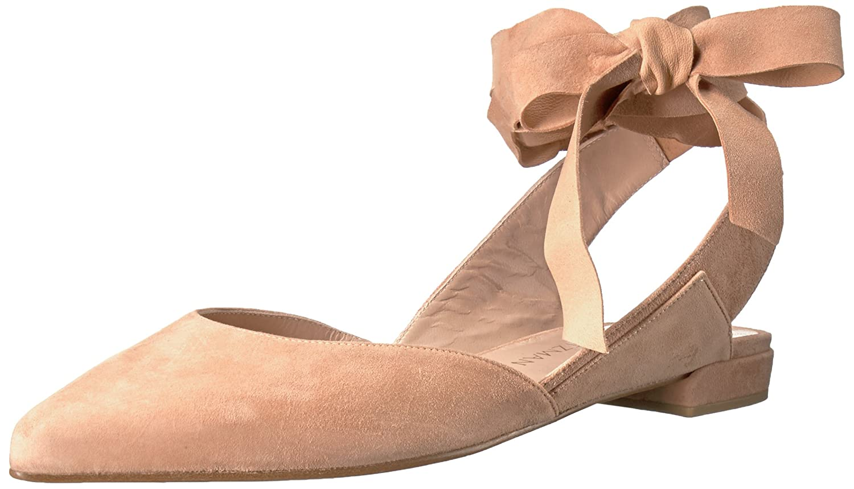 Stuart Weitzman Women's Supersonic Ballet Flat B01M5G4KLI 4.5 B(M) US|Naked