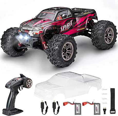 Hobby RC Cars,FLYHAL 9135 Pro Remote Control Car RC Cars for Adults 30+MPH 45km/h 1:16 Scale 4WD Professional IPX4 Waterproof Super Fast RC Cars Moster RC Trucks 4x4 Off Road 2 Batteries